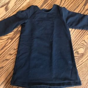 Primary tunic dress 18-24 month, black